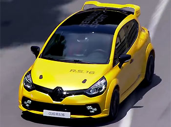 renault clio r s 16 concept. Black Bedroom Furniture Sets. Home Design Ideas