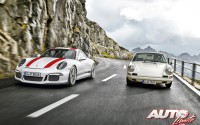 Porsche 911 R 2016 – 911 R 2016 vs 911 R 1967