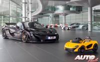 A tope en 2″ con el primer McLaren P1 eléctrico