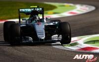 El poder se llama Mercedes. GP de Italia 2016