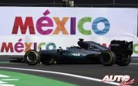 El podio de las tres caras. GP de México 2016