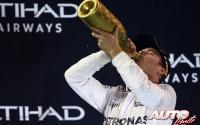 Hamilton vence y Rosberg se corona. GP de Abu Dhabi 2016