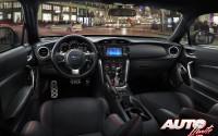 Subaru BRZ 2017 – Interiores