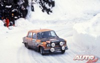 Seat 124 Especial 1800 Grupo 4 – Rally Montecarlo 1977 – Seat