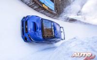 """Subaru se inventa el """"boxersled"""" sobre hielo"""