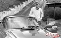 Walter Röhrl con el Porsche 911 Turbo 3.3 en 1979.