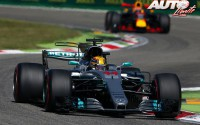 Mercedes arrasa en casa de Ferrari. GP Italia 2017