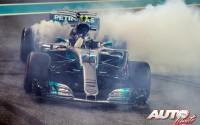 Y Bottas cerró con victoria. GP de Abu Dhabi 2017