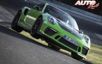 El Porsche 911 GT3 RS vuela sobre Nürburgring