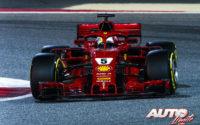 Vettel y Ferrari golpean dos veces. GP de Bahréin 2018