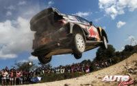 Sébastien Ogier, al volante del Ford Fiesta WRC, durante el Rally de Argentina 2018, puntuable para el Campeonato del Mundo de Rallies WRC.