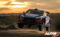 Dani Sordo, al volante del Hyundai i20 Coupé WRC, durante el Rally de Argentina 2018, puntuable para el Campeonato del Mundo de Rallies WRC.