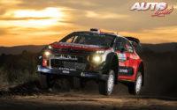 Kris Meeke, al volante del Citroën C3 WRC, durante el Rally de Argentina 2018, puntuable para el Campeonato del Mundo de Rallies WRC.
