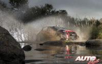 Craig Breen, al volante del Citroën C3 WRC, durante el Rally de Argentina 2018, puntuable para el Campeonato del Mundo de Rallies WRC.