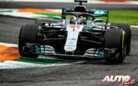 Hamilton sacó el martillo en Monza. GP de Italia 2018