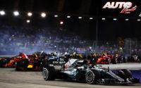 Lewis Hamilton el demoledor. GP de Singapur 2018