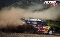 Teemu Suninen, al volante del Ford Fiesta WRC, durante el Rally de Italia 2018, puntuable para el Campeonato del Mundo de Rallies WRC.