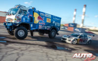 Toneladas de drifting con Red Bull