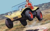 Bruce Meyers fabricó su Meyers Manx Dune Buggy pensando en un vehículo que le aportara diversión en el campo y también entre las dunas playeras.