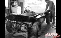 La creación de una nueva carrocería monocasco de fibra de vidrio resultó clave en el bajo peso del Meyers Manx Dune Buggy.