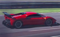 Ferrari P80/C 2019 – Dinámico