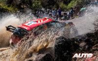 Esapekka Lappi, al volante del Citroën C3 WRC, durante el Rally de México 2019, puntuable para el Campeonato del Mundo de Rallies WRC.