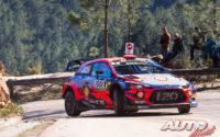 Dani Sordo, al volante del Hyundai i20 Coupé WRC, durante el Rally de Francia - Tour de Corse 2019, puntuable para el Campeonato del Mundo de Rallies WRC.