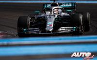 Hamilton y Mercedes aburren. GP de Francia 2019