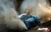 Elfyn Evans, al volante del Ford Fiesta WRC, durante el Rally de Argentina 2019, puntuable para el Campeonato del Mundo de Rallies WRC.