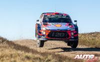 Dani Sordo, al volante del Hyundai i20 Coupé WRC, durante el Rally de Argentina 2019, puntuable para el Campeonato del Mundo de Rallies WRC.