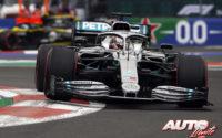 Lewis Hamilton a tiro de cuatro. GP de México 2019