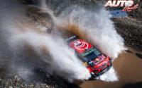 Esapekka Lappi, al volante del Citroën C3 WRC, durante el Rally de Turquía 2019, puntuable para el Campeonato del Mundo de Rallies WRC.