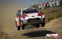 Kris Meeke, al volante del Toyota Yaris WRC, durante el Rally de Turquía 2019, puntuable para el Campeonato del Mundo de Rallies WRC.