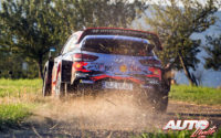 Thierry Neuville, al volante del Hyundai i20 Coupé WRC, durante el Rally de Alemania 2019, puntuable para el Campeonato del Mundo de Rallies WRC.