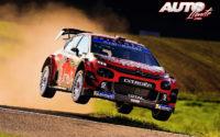 Esapekka Lappi, al volante del Citroën C3 WRC, durante el Rally de Alemania 2019, puntuable para el Campeonato del Mundo de Rallies WRC.
