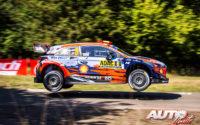 Dani Sordo, al volante del Hyundai i20 Coupé WRC, durante el Rally de Alemania 2019, puntuable para el Campeonato del Mundo de Rallies WRC.