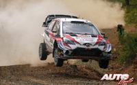 Jari-Matti Latvala, al volante del Toyota Yaris WRC, durante el Rally de Turquía 2019, puntuable para el Campeonato del Mundo de Rallies WRC.
