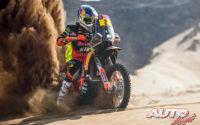 Matthias Walkner, a los mandos de su KTM 450 Rally, durante el Rally Dakar 2020.