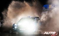 Pontus Tidemand, al volante del Ford Fiesta WRC, durante el Rally de Gran Bretaña / Gales 2019, puntuable para el Campeonato del Mundo de Rallies WRC.