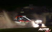 Jari-Matti Latvala, al volante del Toyota Yaris WRC, durante el Rally de Gran Bretaña / Gales 2019, puntuable para el Campeonato del Mundo de Rallies WRC.