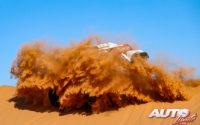 Stéphane Peterhansel, al volante del MINI John Cooper Works Buggy 4x2, durante el Rally Dakar 2020.