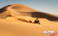Stefan Svitko, a los mandos de su KTM 450 Rally Replica, durante el Rally Dakar 2020.