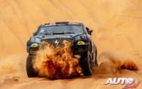 Nani Roma, al volante del Borgward BX7 DKR Evo 4x4, durante el Rally Dakar 2020.