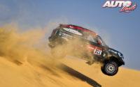Orlando Terranova, al volante del MINI John Cooper Works Rally 4x4, durante el Rally Dakar 2020.