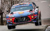 El Rally de Montecarlo 2020 en imágenes