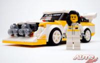 El homenaje de Audi y Lego a Michèle Mouton