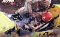 La temporada de debut en la Fórmula Atlantic de 1974 no pudo ser más desastrosa. Con las cuatro ruedas bloqueadas en una apurada de frenada, Villeneuve acabó impactando contra las protecciones del circuito de Mosport Park, retorciendo el chasis de su March-Ford 74B y quedando atrapado dentro del monoplaza, con severas fracturas en su pierna izquierda. Sería su primer accidente fuerte en coches.