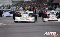 Gilles Villeneuve obtenía la victoria en el GP de Trois-Rivières, al volante de un March-Ford 76B de la Fórmula Atlantic en 1976. Villeneuve batía sobre este trazado urbano a pilotos invitados de la Fórmula 1, como Alan Jones y James Hunt, que le acompañaron en el podio.