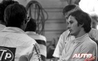 Gilles Villeneuve se proclamó campeón en la Fórmula Atlantic de 1977, por segundo año consecutivo.