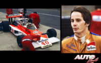 Al volante de un McLaren-Ford M23D (ex-Hunt), Gilles Villeneuve debutó en Fórmula 1 en el GP de Gran Bretaña de 1977, disputado en el circuito de Silverstone.